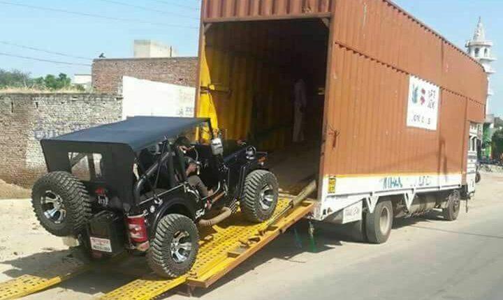 Car Jeep Moving Vadodara